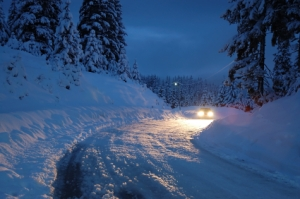 Driving in Snow