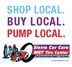 Shop Local at Sierra Car Care and MST Tire Center