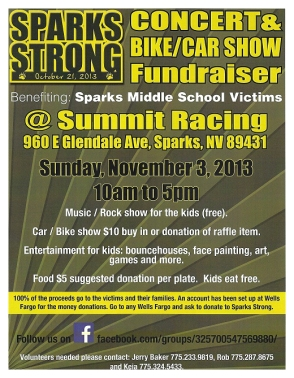 Sparks Strong Fundraiser for Sparks Middle School Shooting