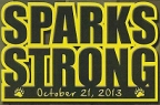 sparks strong Logo