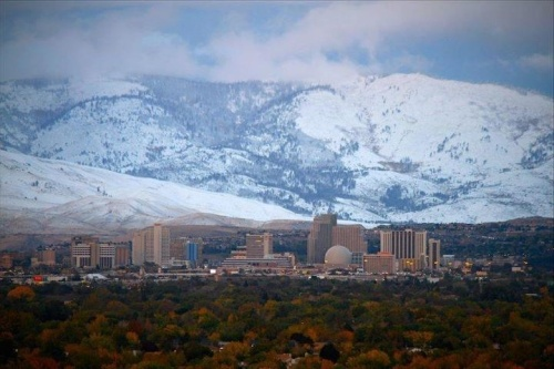 reno in winter