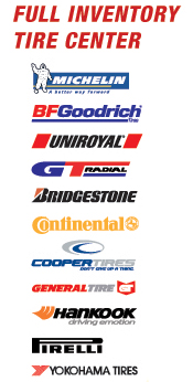 Tire Brand Options