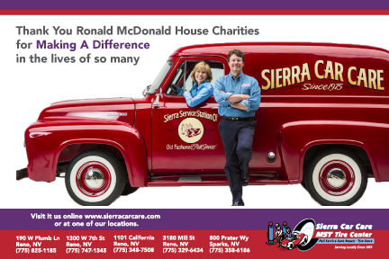 Thank you Ronald McDonald House Charities