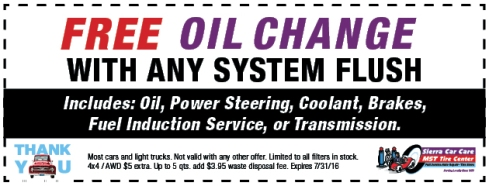 free-oil-change